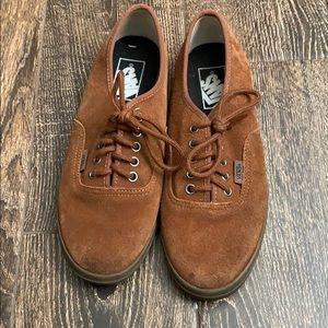 Brown Corduroy Vans